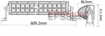 LED Bar Dual row  21,5 inch