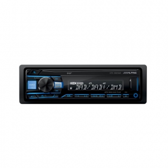 Alpine UTE-202DAB - Mechaless Media Receiver met DAB (geen BT)
