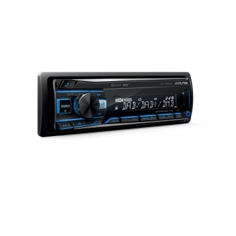 Alpine UTE-204DAB - Mechaless Media Receiver BT met DAB
